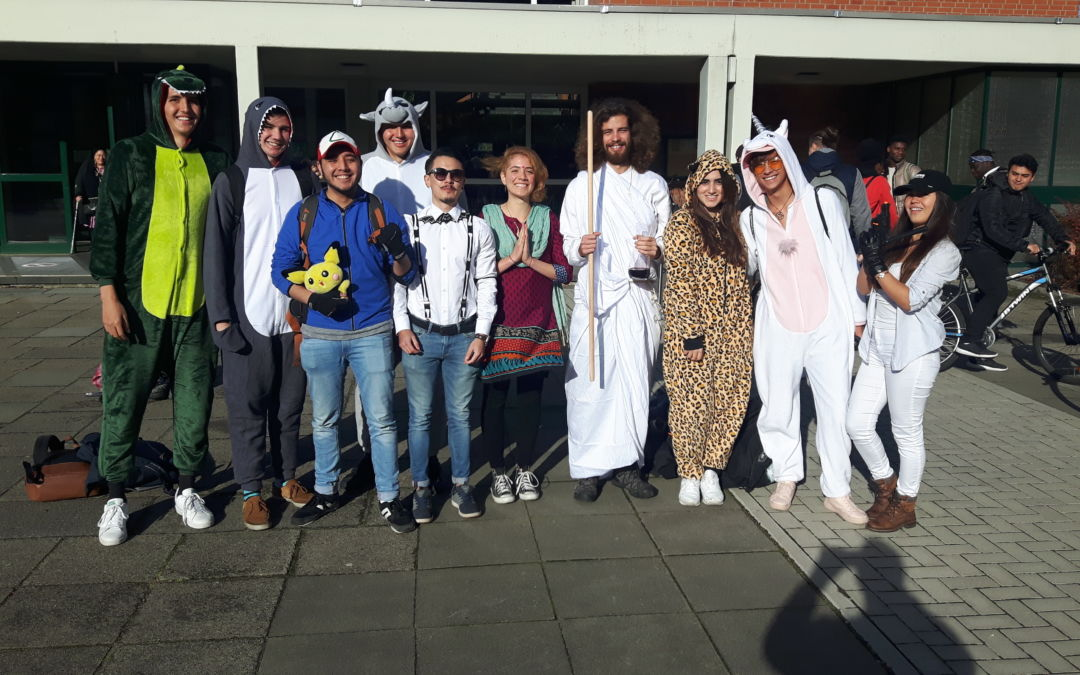 Reformationstag (Halloween) am Comenius-Kolleg (Okt. 2018)