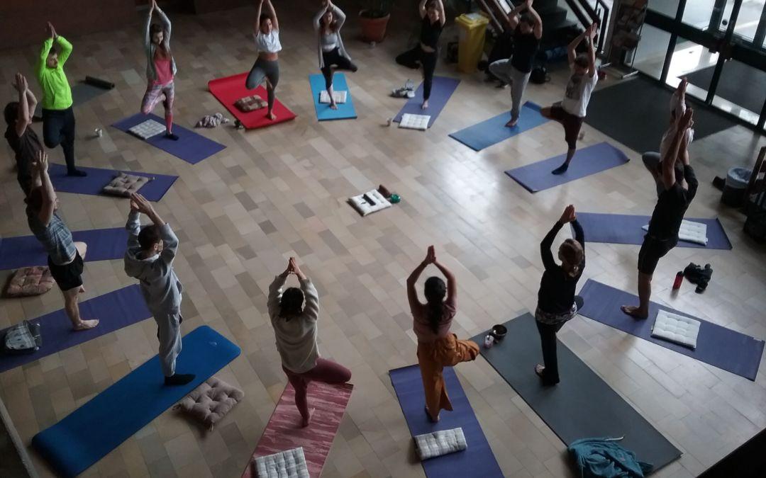 Yoga-Wochenende am 7. und 8. März 2020 (März 2020)